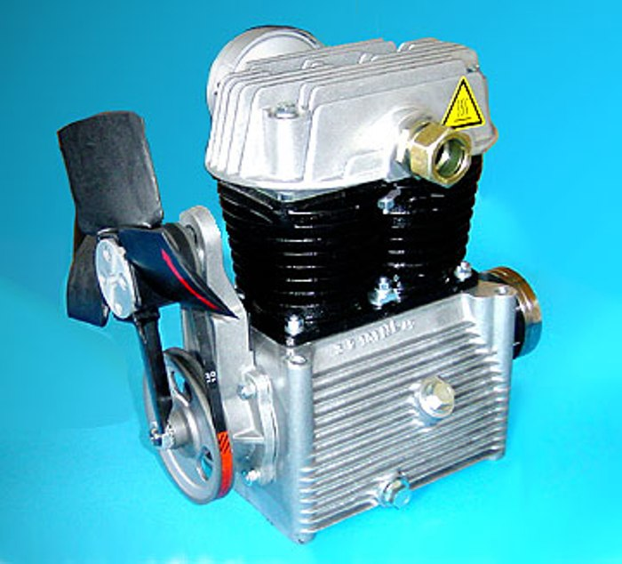 Oil Lubricated Small Piston Compressors 2 3 Cylinders 500 600 1300 2400 L Min Air Delivery